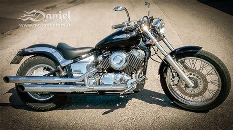 modifica yamaha dragstar xvs  daniel accessori moto