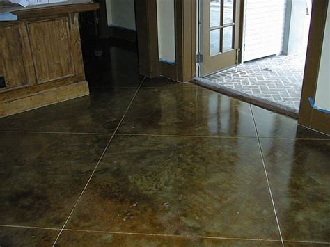 18 Best Images About Acid Stain Concrete On Pinterest