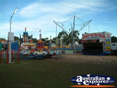 springsure show carnival rides virtual postcard