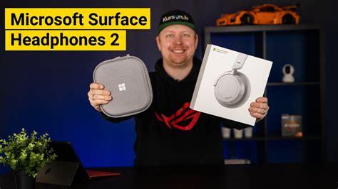Microsoft Surface Headphones 2 austiņu apskats - YouTube