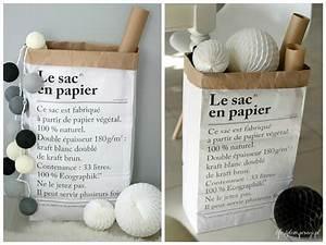 Sac En Papier Deco : l 39 indispensable le sac en papier aventure d co ~ Teatrodelosmanantiales.com Idées de Décoration