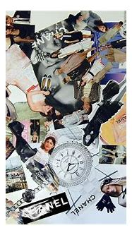 Chanel collage | Made from advertisements, fashion ...