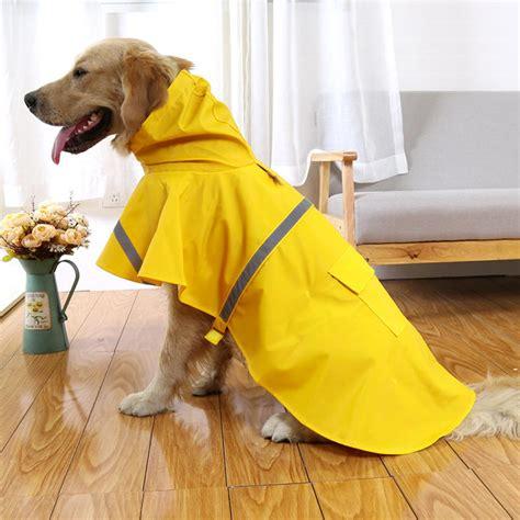 haustier hund wasserdicht kapuzen reflektierende