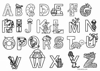 Abc Coloring Pages Printable Colouring Alphabet Printables