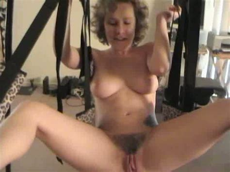 Busty Curly Milf Gets Fucked Properly On Sex Swings Mylust Com Video