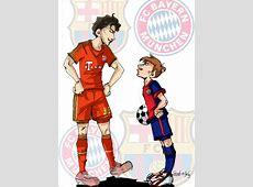FC BAYERN MUNCHEN VS FC BARCELONA by SandradelaIglesia on