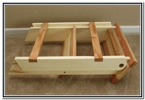 wooden folding step stool plans projects