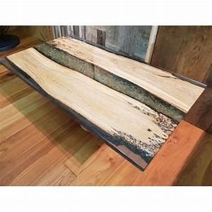 Table En Bois Et Resine : table basse design moderne italien bois de briccola et r sine niky ~ Dode.kayakingforconservation.com Idées de Décoration