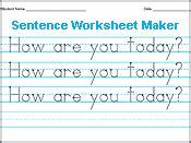 Handwriting Worksheets Maker Amazing Handwriting Worksheet Maker