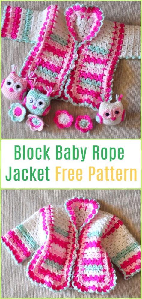 crochet kids sweater coat  patterns