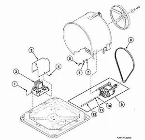 Motor Assy Diagram  U0026 Parts List For Model Swft71wn Speed