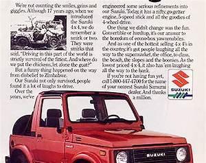 Suzukijeepinfo  Suzuki Advertise