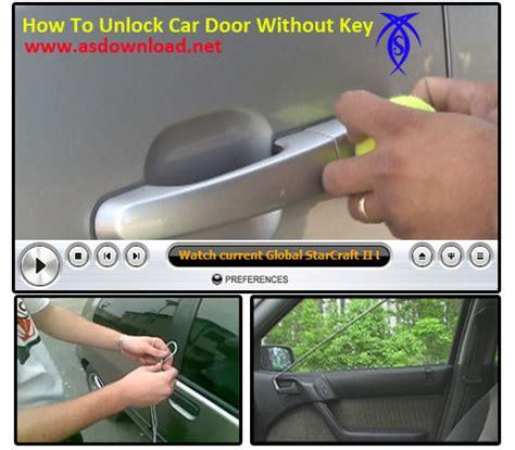 how to unlock a car door how to unlock your car door with a shoelace in 10 seconds