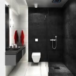 black bathroom tile ideas kleines bad einrichten 51 ideen für gestaltung mit dusche