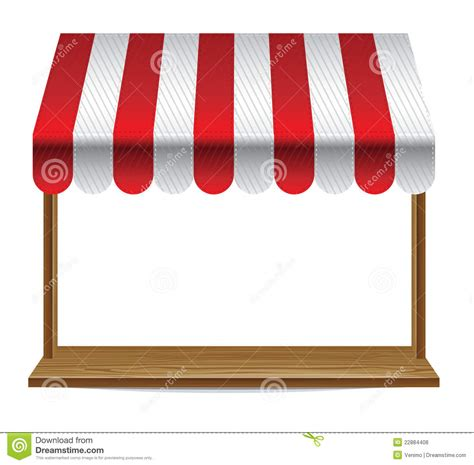 store window  striped awning royalty  stock  image