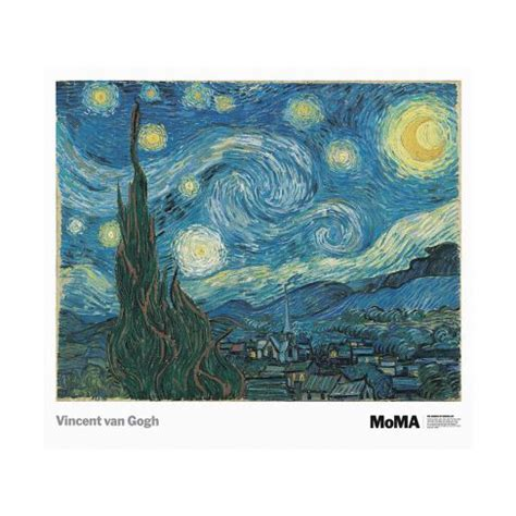 national gallery gogh vincent van gogh starry night poster national gallery of art shops shop nga gov