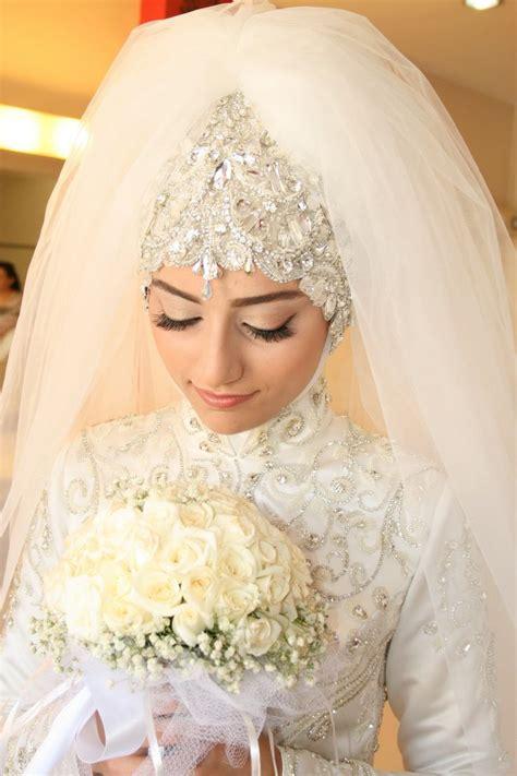 Modest And Islamic Bridal Hijab With Veil Hijabiworld