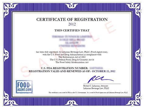 food agent fda compliance  worldwide food industry