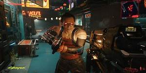 cyberpunk 2077 has an nsfw witcher reference rant