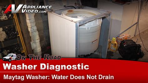 maytag washer leaking from bottom of tub maytag whirlpool roper washer diagnostic water does