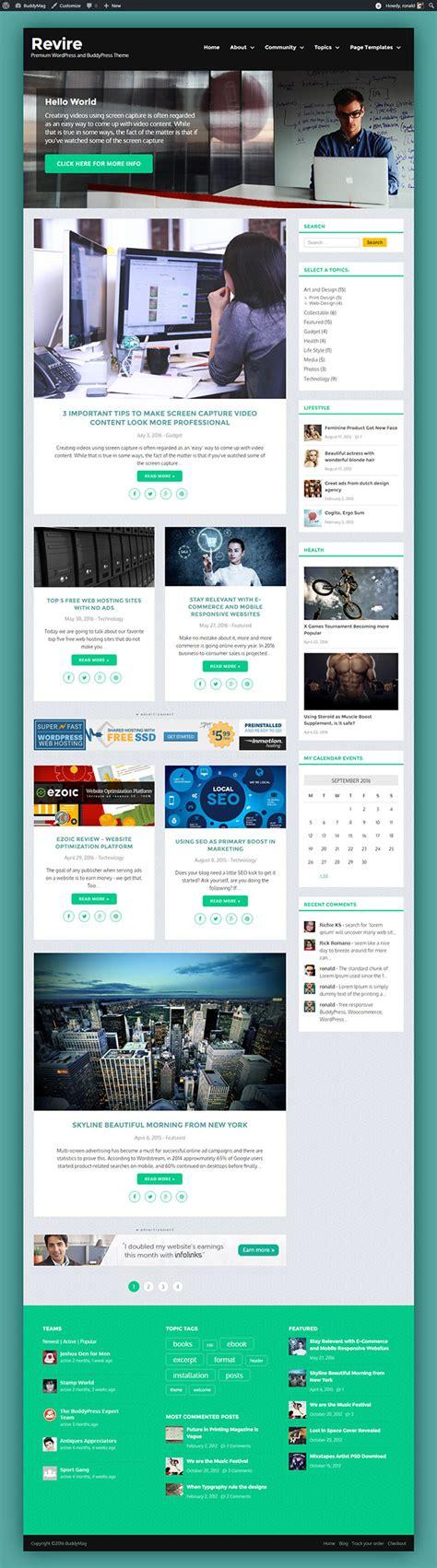 revire tech savvy responsive theme wordpress