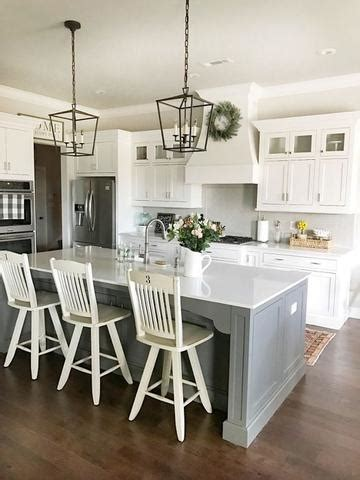 upgrade  rustic farmhouse style kitchen  cheap modern rustic home