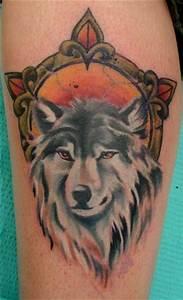 Wolf Tattoo Traditional Ideas - Yo Tattoo