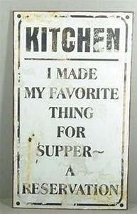 Blechschilder Sprüche Vintage : blechschild kitchen wandschild lustige schilder ~ Michelbontemps.com Haus und Dekorationen