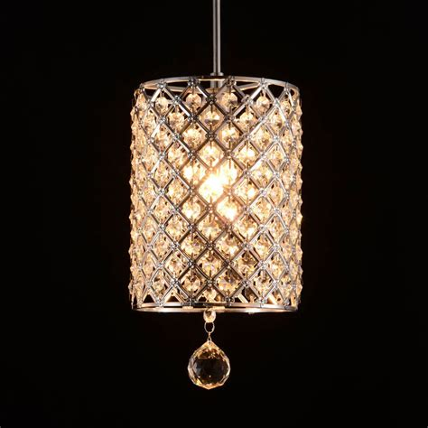 Modern Crystal Hallway Light Pendant L Lighting Fixture