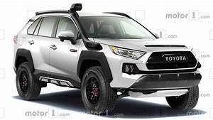 Toyota Rav4 Trd Pro Dijital Ortamda Hayal Edildi