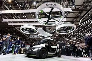 Voiture Volante Airbus : airbus l ve le voile sur sa premi re voiture volante ~ Medecine-chirurgie-esthetiques.com Avis de Voitures
