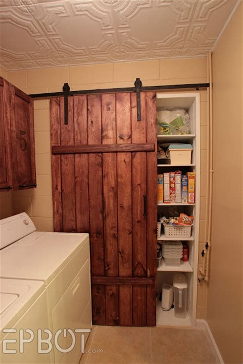cheap sliding barn doors epbot make your own sliding barn door for cheap