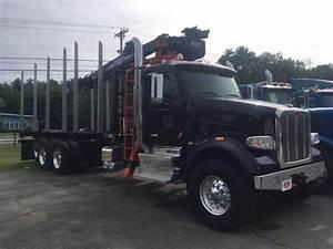 2020 Peterbilt 567 Tri Axle Logging Truck  Paccar Mx13