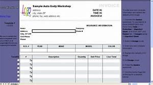 shareware4u auto repair invoice template With auto repair invoice template microsoft office