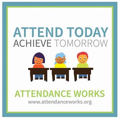 Attendance Attend Students Posters Tomorrow Achieve Awareness