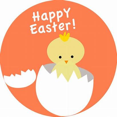 Easter Chick Hatching Clipart Clip Egg Vector