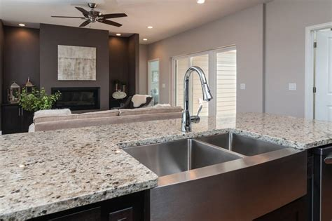 kitchen dining chic crema pearl granite for home design