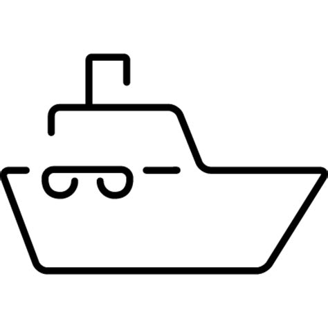 Boat Outline Pictures by Boat Ultrathin Outline Free Vectors Logos Icons And
