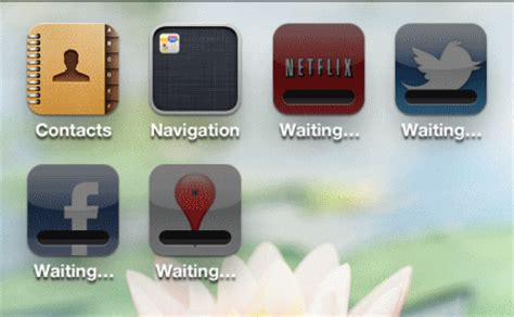 iphone apps waiting how to fix waiting iphone app installation problems