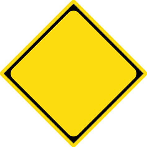 road sign template clipart    road sign