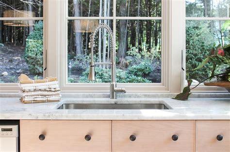 Kitchen Sink Under Windows-cottage-kitchen