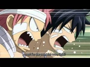 Fairy Tail- Natsu and Gray see Lucy naked - VidoEmo ...