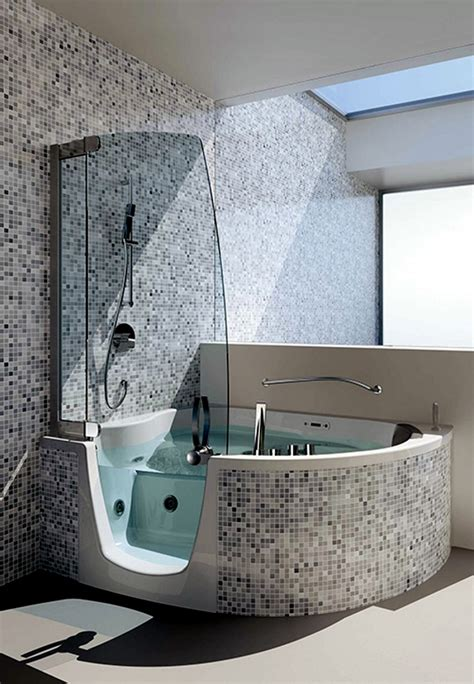 living room curtain ideas modern ergonomic corner bath with shower and whirlpool function