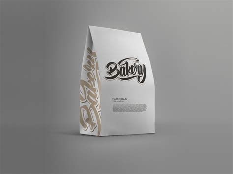 Which are of course well #19. Standing Paper Bag Mockup | Free Mockup