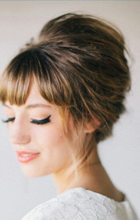 Modern 60s Hairstyles by The Modern 60 S Bouffant Hairspiration