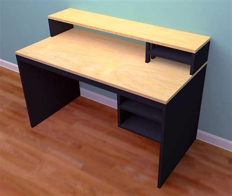 build a wooden desk woodwork desk plans from plywood pdf plans