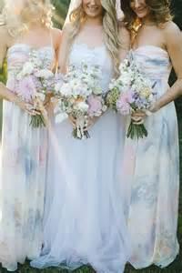 watercolor wedding dress 27 dreamy watercolor bridesmaids dresses happywedd
