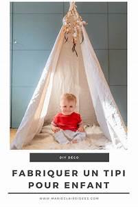 Fabriquer Tipi Enfant : vid o comment fabriquer un tipi facilement d co for the home pinterest tipi ~ Voncanada.com Idées de Décoration