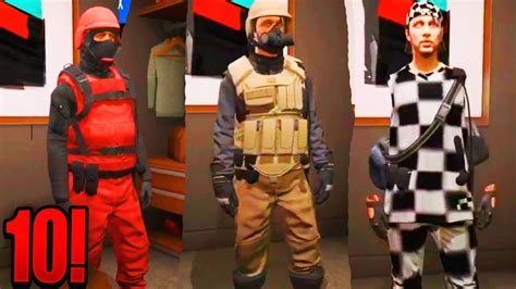 TOP 10 GTA 5 ONLINE MODDED OUTFITS! (GTA 5 MODDED OUTFIT) Patch 1.39 {GTA 5 Director Mode Glitch ...