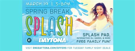 spring break splash daytona volusia mom